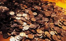 Должник погасил кредит перед банком 69 кг мелочи
