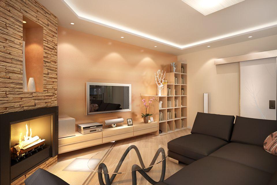 Как спланировать интерьер гостиной комнаты