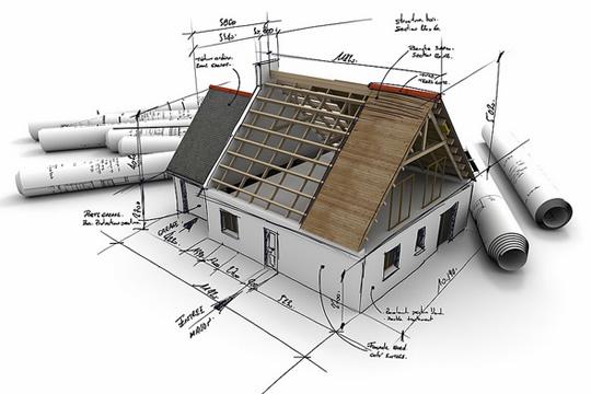Использование строительного оборудования при постройке дома