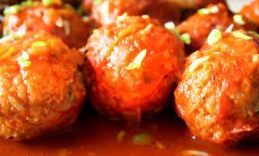 Тефтели в томатно-сырном соусе