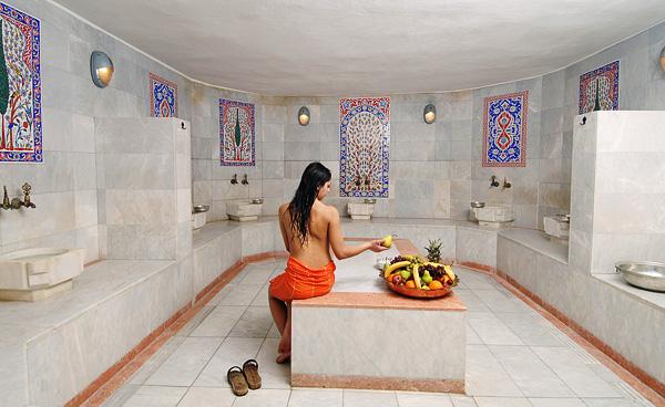 Строительство Турецкой бани на даче