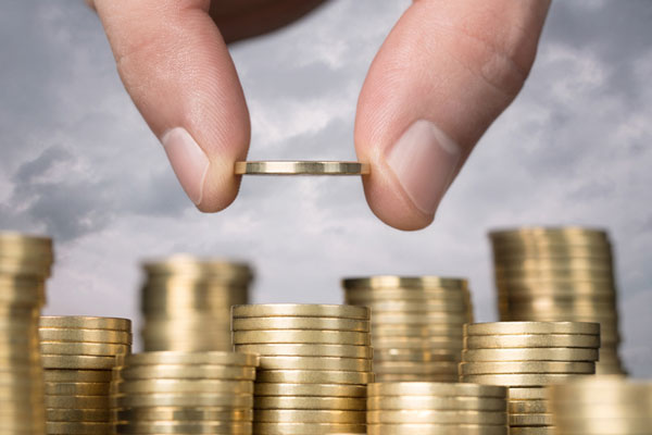 Средняя ставка по рублевым вкладам в банках упала до 11,34%