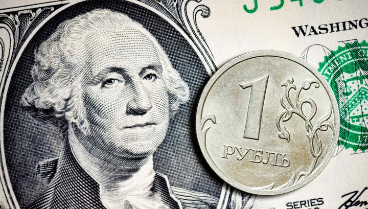Официальный курс рубля вырос, в отличие от биржевого