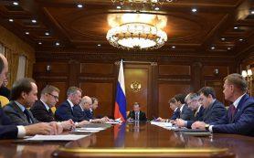 Медведев поручил проработать вопрос финансирования льготных кредитов АПК
