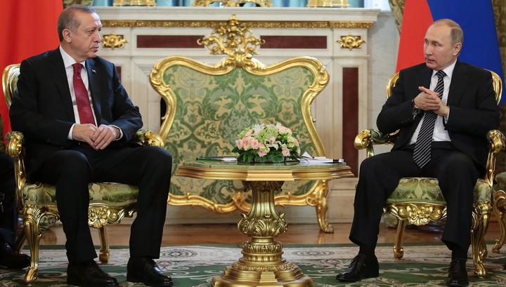 Путин и Эрдоган рассказали о восстановлении сотрудничества