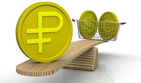 ЦБ оценивает реальное укрепление рубля в апреле в 2,5%
