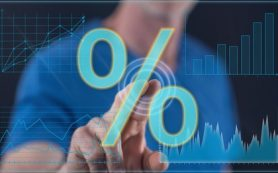 Максимальная ставка топ-10 банков по рублевым вкладам снизилась до 7,38%