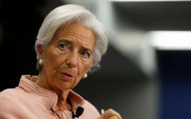Глава МВФ прогнозирует укрепление доллара