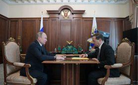 Путин внес кандидатуру Медведева на пост премьер-министра РФ