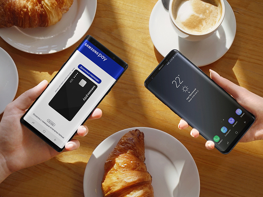 Россия первой в мире запустила безналичные переводы с технологией токенизации Samsung Pay