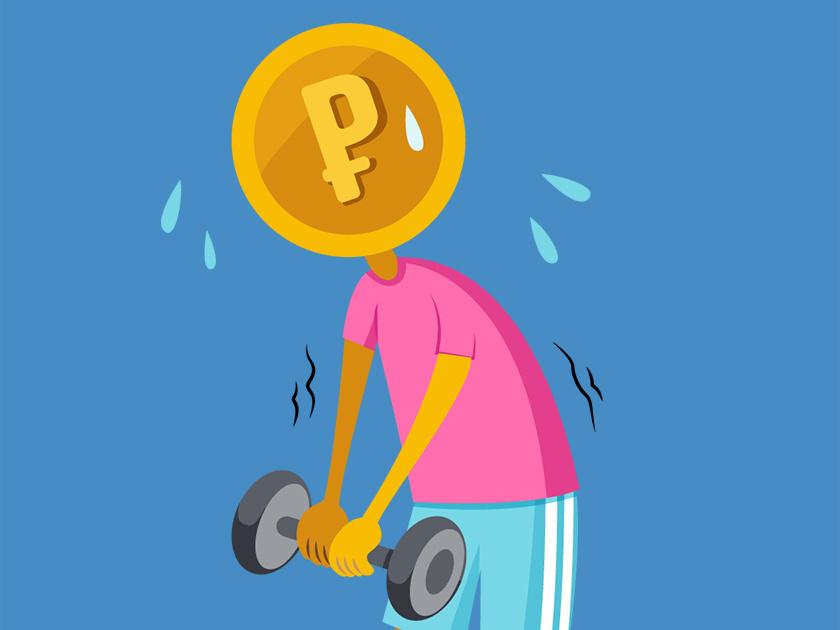 5 слабостей рубля
