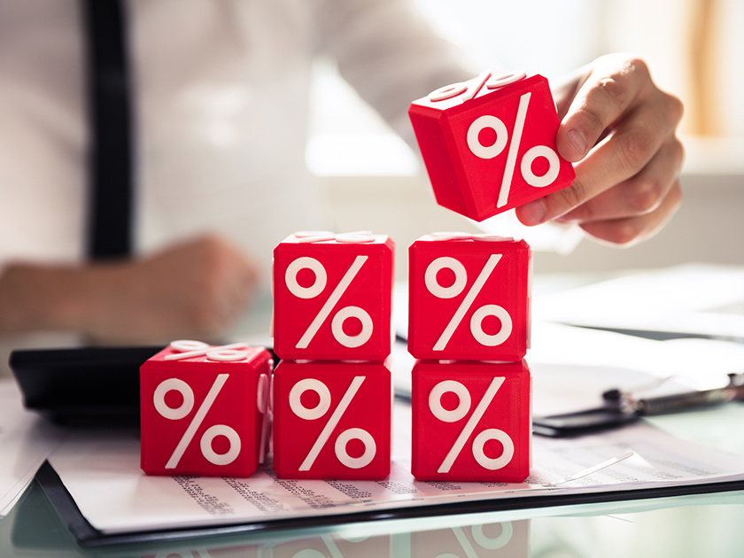 Максимальная ставка топ-10 банков по рублевым вкладам повысилась до 6,8%