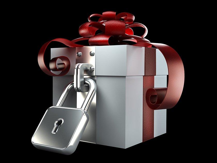 Блокировка в подарок
