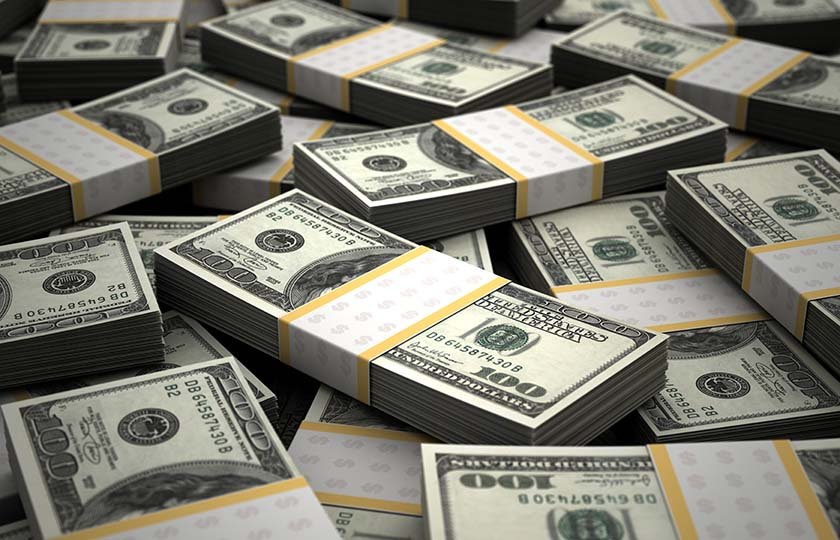 Россия впервые в этом году увеличила вложения в гособлигации США