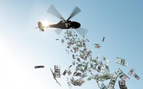 Инвестбанкир предсказал эпоху «денег с вертолета» для всех