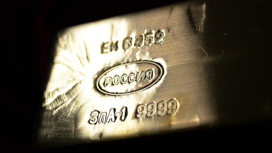 Россия продала Великобритании золото на рекордную сумму более $5 млрд